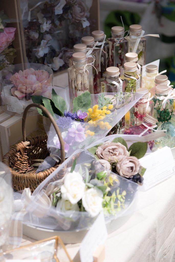 ③Knot. floral design