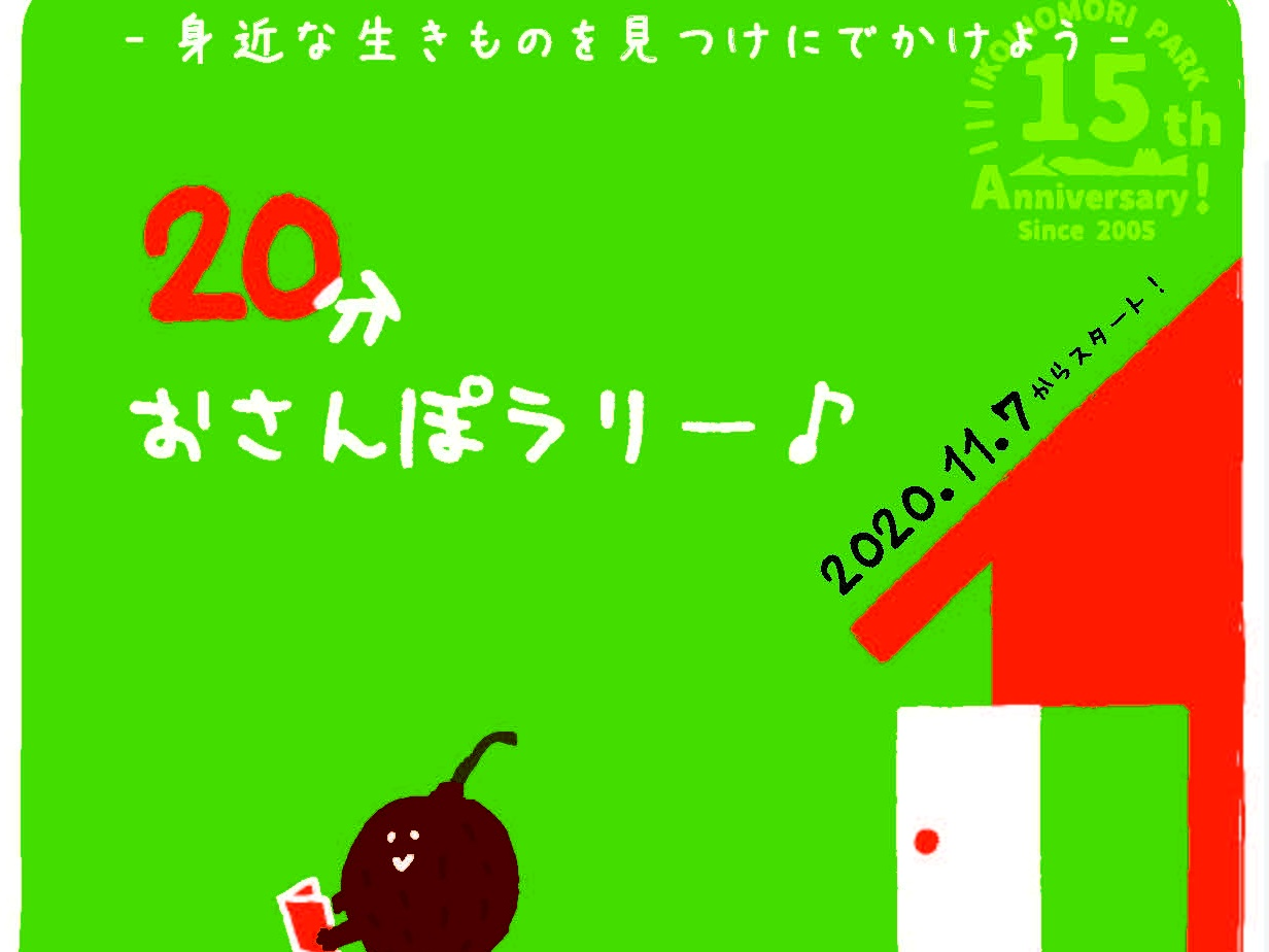 20分おさんぽラリー - 20201103タイトル